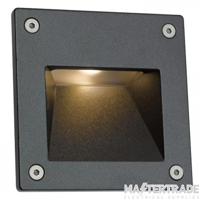 Ansell ACSQLEDWL Wall Light LED 4000K 3W