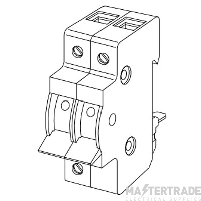 Crabtree Starbreaker 40A Switch Disconnector DP 40/MI2