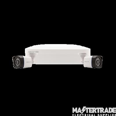 ESP REKHD4KB2W 2 Camera CCTV Kit Whi