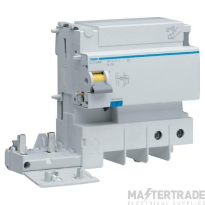 Hager BDC280E RCD DP Add-On AC 125A 30mA