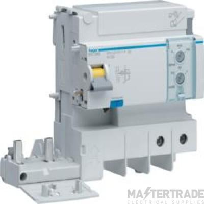 Hager BTC480E RCD 4P Add-On AC 125A300mA