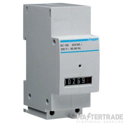 Hager EC100 Hours Counter 230V