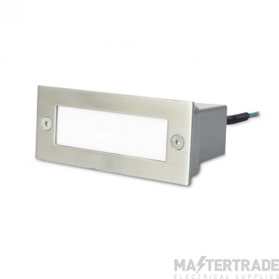 LEDS C4 Wall Recessed Stair 12 X Led 1W  Polished Grey