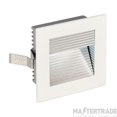 Intalite 113290 FRAME CURVE LED recessed light , square, matt white, white LED