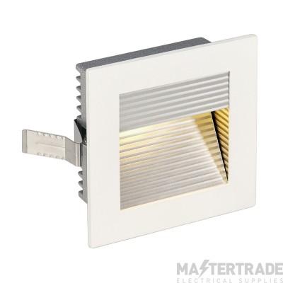 Intalite 113292 FRAME CURVE LED recessed light , square, matt white, warm white LED