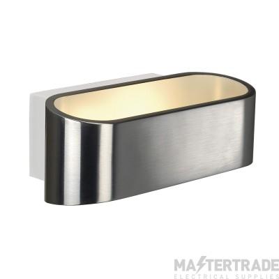 Intalite 151315 ASSO LED wall light, oval, alu brushed, 5W LED, 3000K