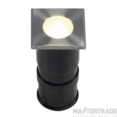 Intalite 228342 POWER TRAIL-LITE SQUARE, stainless steel 316, 1W LED, 3000K, IP67