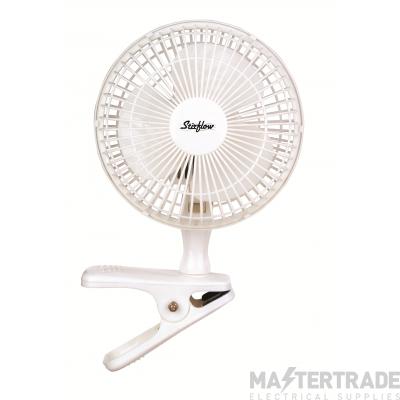 Stearn SFG6CB Stirflow Fan 6in White