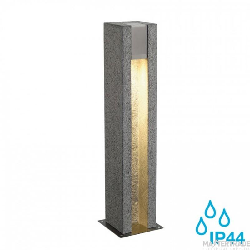 SLV 231440 ARROCK SLOT GU10, square, granite, salt & pepper, GU10 LED, max. 4W, IP44
