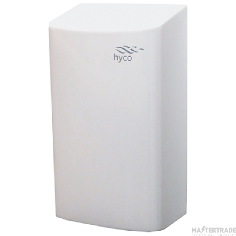 Hyco CURVEW Auto Hand Dryer 0.9kW Whi