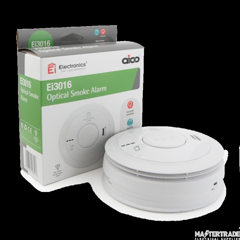 Aico EI3016 Optical Mains Smoke Alarm