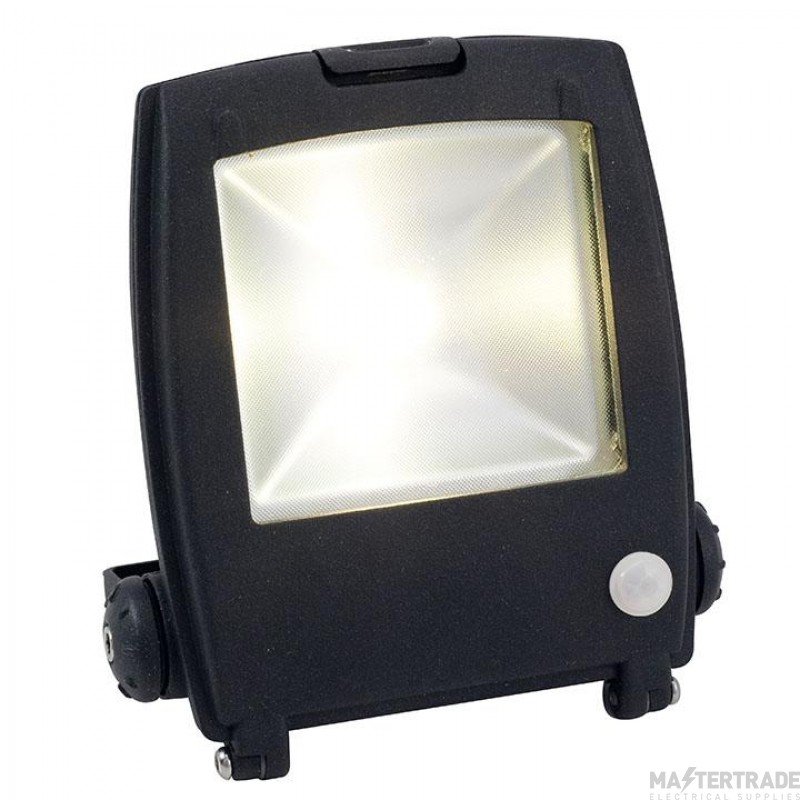 Ansell AMLED10/PIR Mira Die-Cast 10W LED Floodlight 4000K c/w PIR