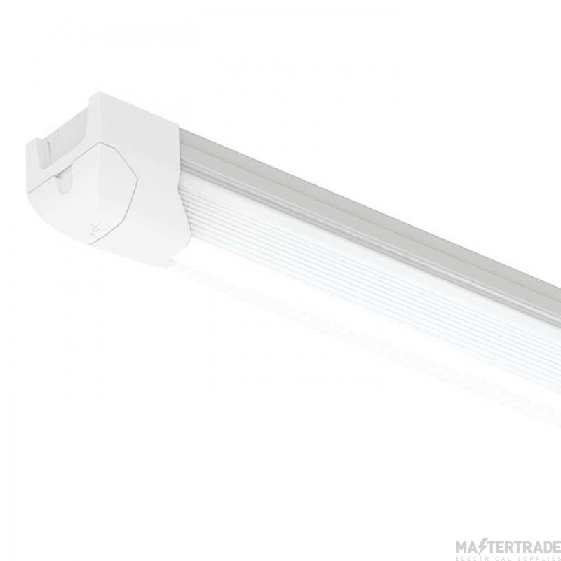 Ansell Airbeam 5FT Twin LED Batten Integral Microwave Sensor Emergency 65W ABLED2X5/MWS/M3