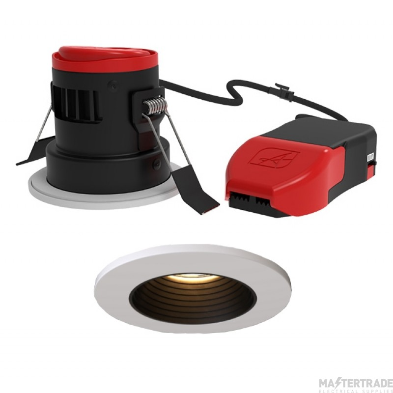 Ansell APRILEDP/AG/CCT Prism Pro CCT Anti-Glare Fire Rated Downlight CCT 2700K-6000K Matt white NEW!!!