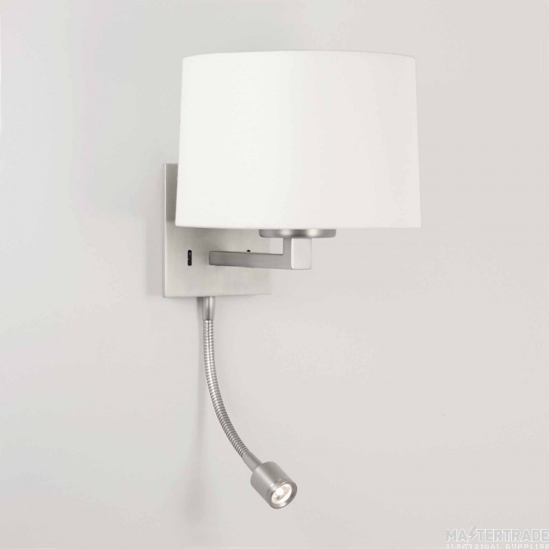 Astro 1142014 Azumi Classic LED 1 Light Nickel Modern Wall Bracket