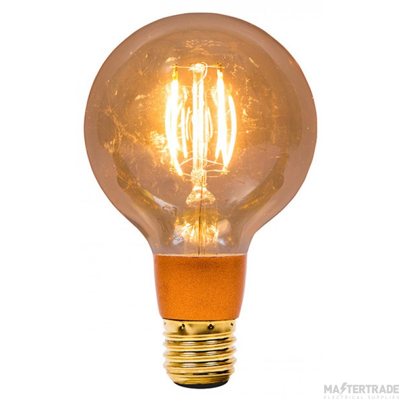 BELL 1474 4W LED Vintage Globe Dimmable - ES, Amber, 2000K