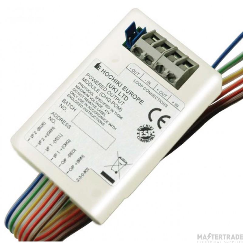 Channel F/CH/CHQ-POM Output Module
