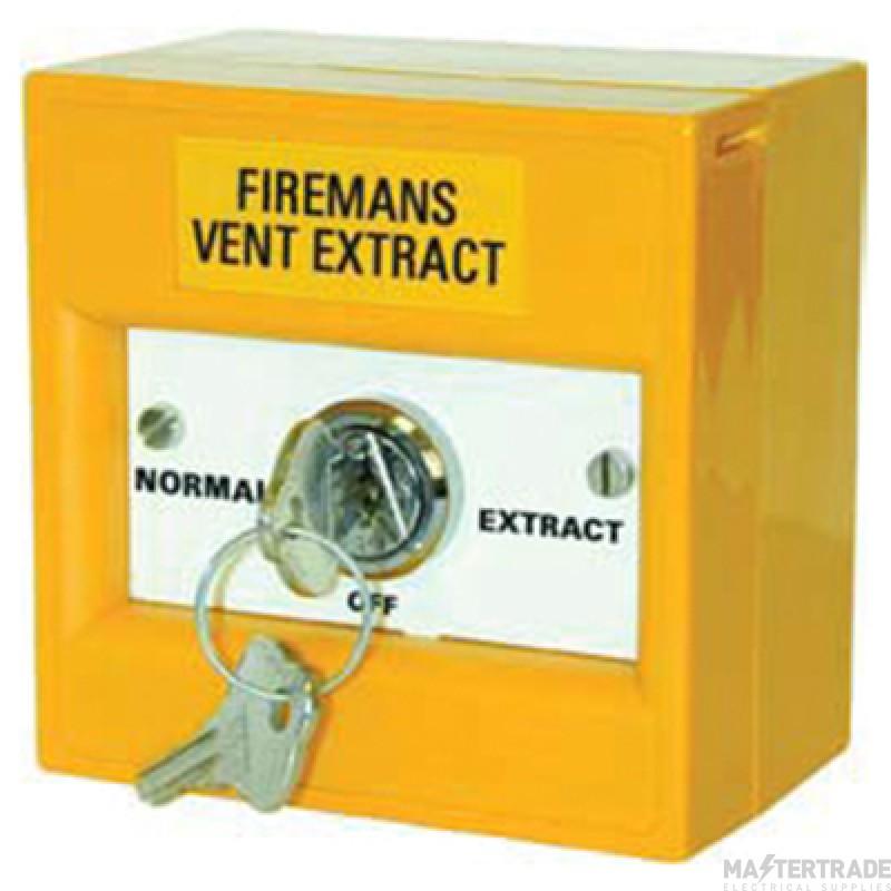 Channel F/CH/FVE Firemans Vent Callpoint