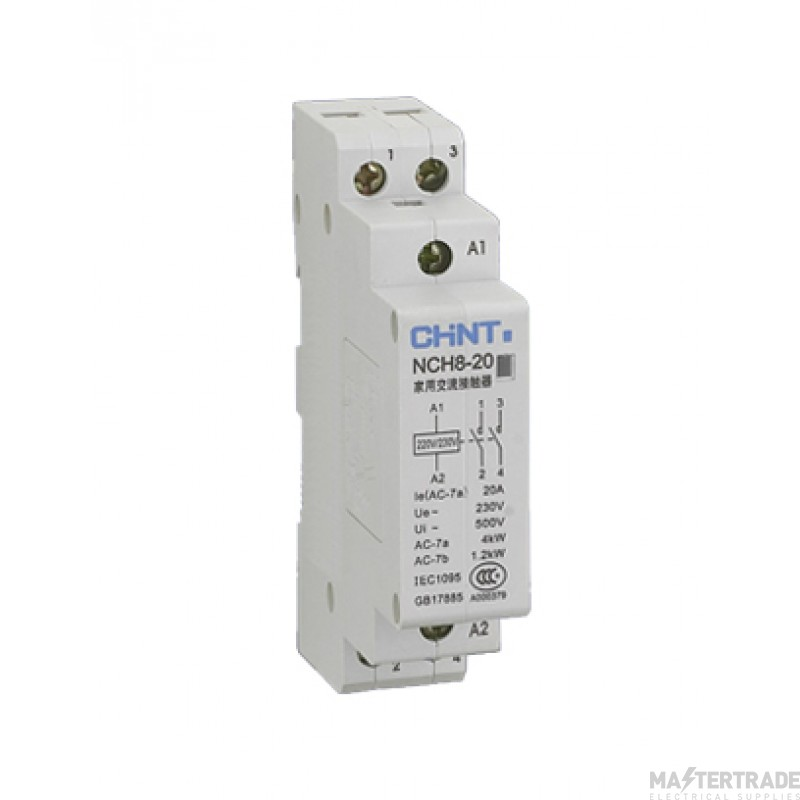 Chint NCH8-20 DP 2NO Contactor 20A
