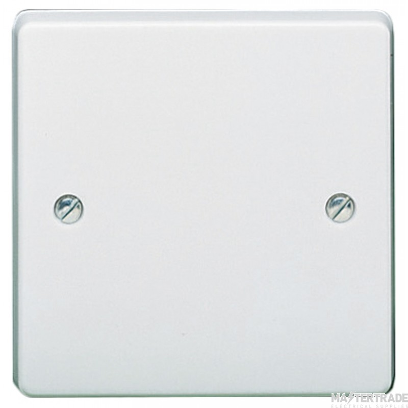 Crabtree Capital White 86x86mm Blanking Plate 1 Gang 4001