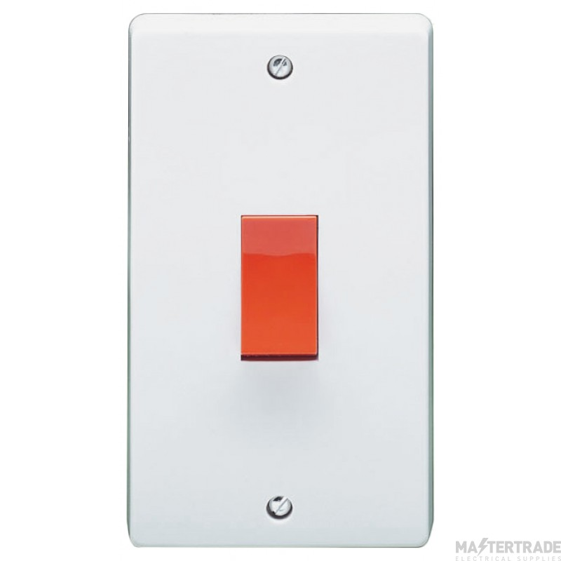 Crabtree Capital White 50A Switch DP 4500