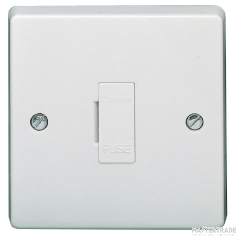 Crabtree Capital White 13A Connection Unit Unswitched Fused 4828
