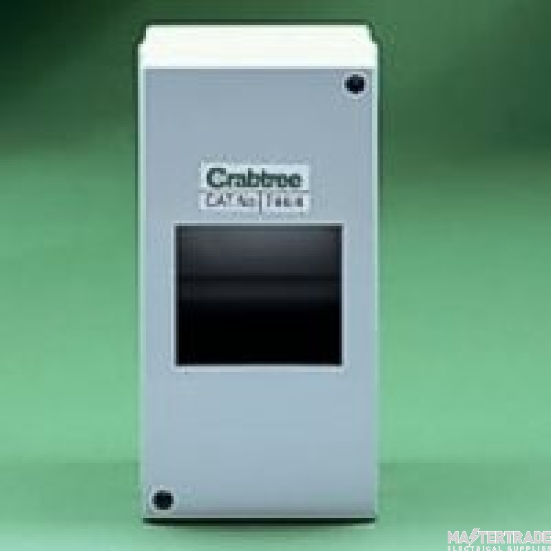 Crabtree Starbreaker 80A Enclosure 4 Module IP20 744/4