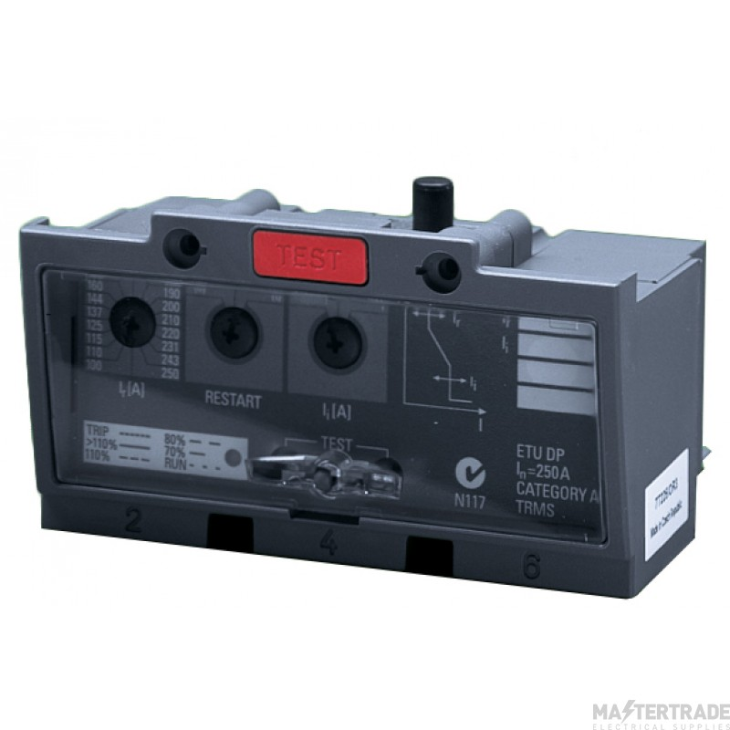 Crabtree Powerstar 100-250A Overcurrent Release for TP Switching Unit 7T225OR3