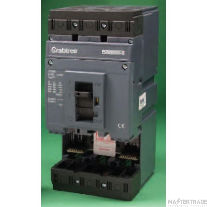 Crabtree Powerstar 250A 65kA Switching Unit 3P 7T2H3250