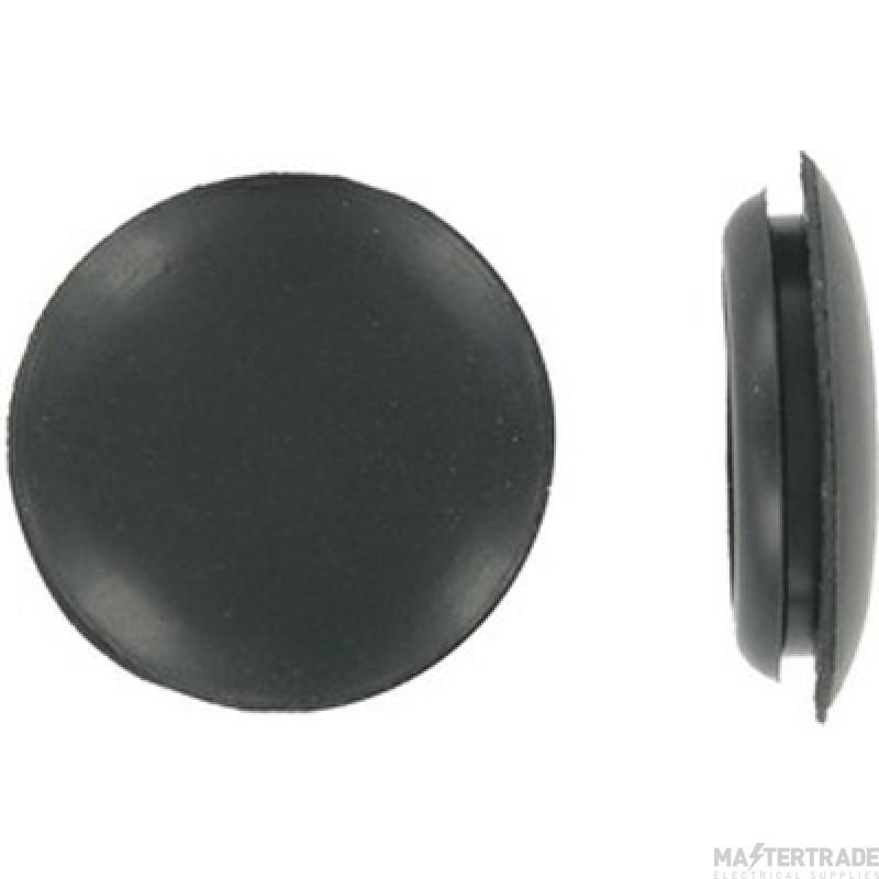 Deligo CGB25 Blank Grommet 25mm PVC Black