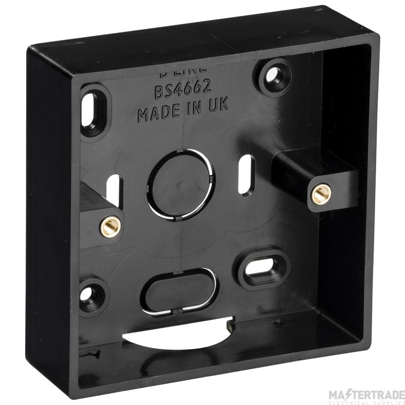 DLine SSB28B Single Surface Box 28mm