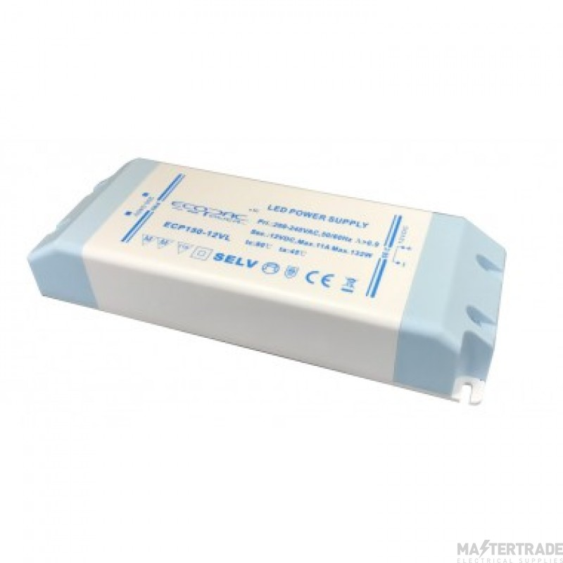 ECOPAC LED DRIVER ECP150-12VL SERIES 132W Contant Voltage  Fixed Outout 12volt DC