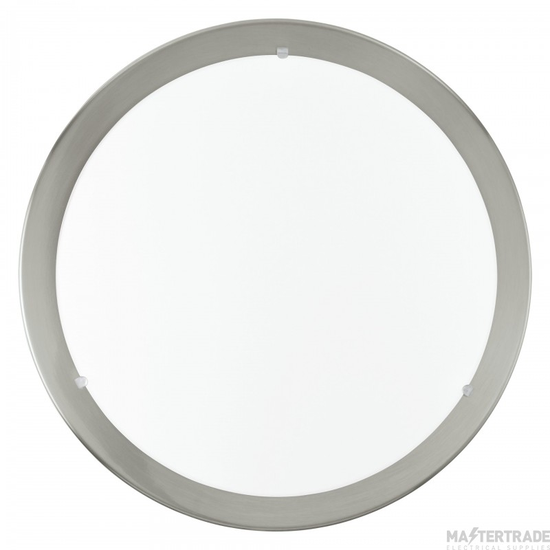 Eglo 31254 LED Planet Wall/Ceiling Light In Satin Nickel