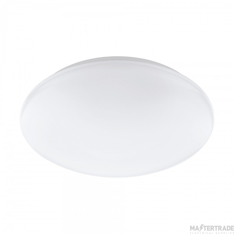 Eglo 32589 Giron-C LED Wall And Ceiling Light In White Plastic