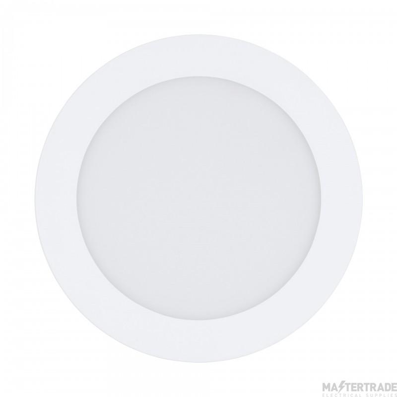 Eglo 32738 Fueva-C LED Recessed Luminaire In White And Plastic - Dia: 170mm