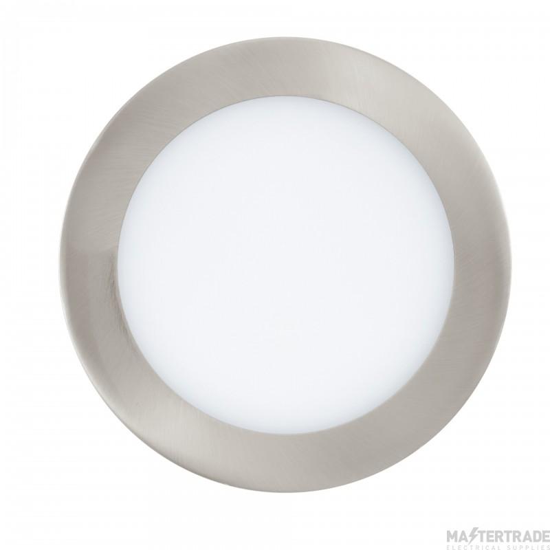 Eglo 32754 Fueva-C LED Recessed Luminaire In Satin Nickel And Plastic - Dia: 170mm