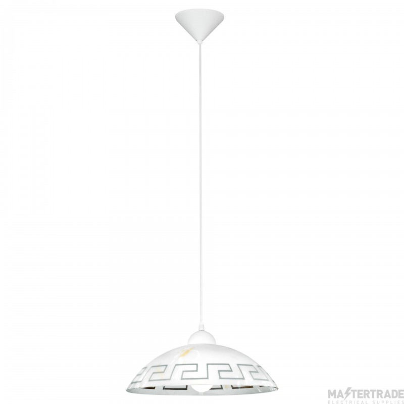 Eglo 82786 Vetro 1 Light Modern Pendant Ceiling Light