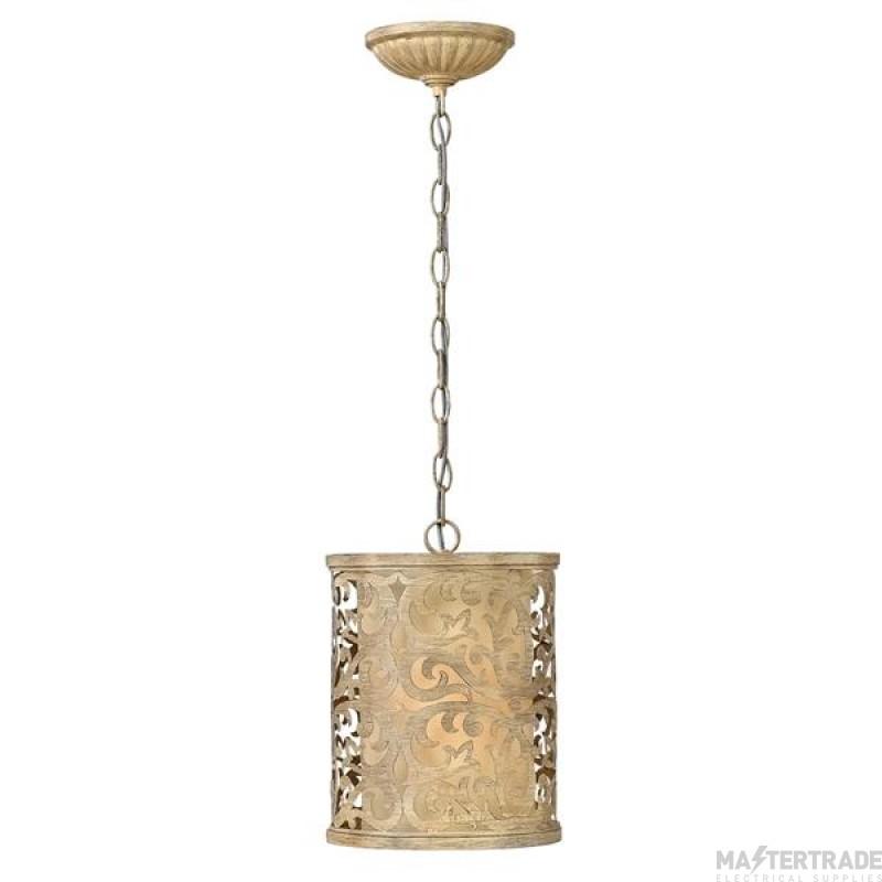 HK/CARABEL/P/A Carabel 1 Light Champage Mini Pendant