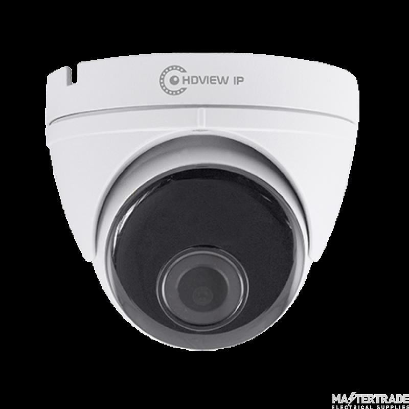 ESP White 3.6mm Lens 5MP IP Dome POE Fixed Camera  HDVIPC36FDW
