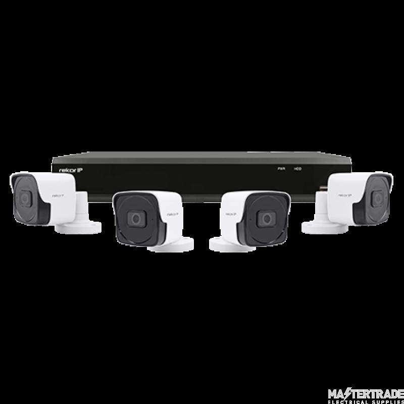 ESP REKIP4KB4W 4 Channel POE Camera Kit
