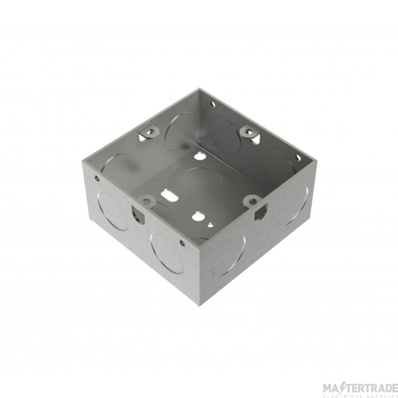MetPro EWS4 35Mm 1 Gang Switch Socket Box 20Mm K/O