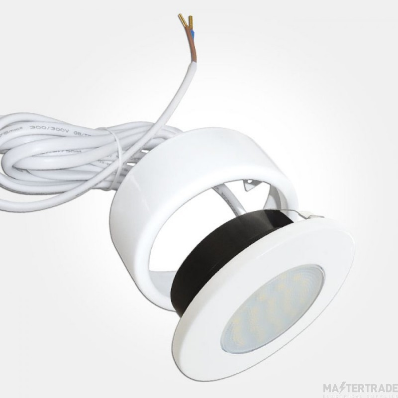 Eterna CLEDCIRWH Downlight Cabinet LED