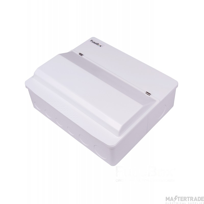 FuseBox Dual RCD Flex 16 Usable Ways Consumer Unit SPD T2 F1016DX (15 Usable Ways)