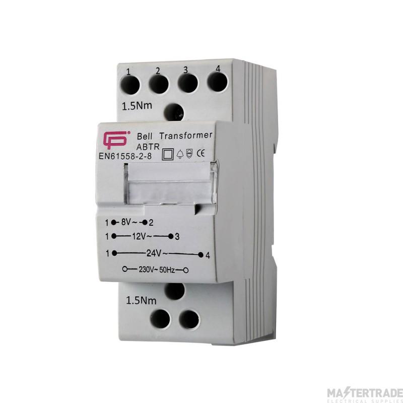 FuseBox ABTR Bell Transformer 1A 8V 230V