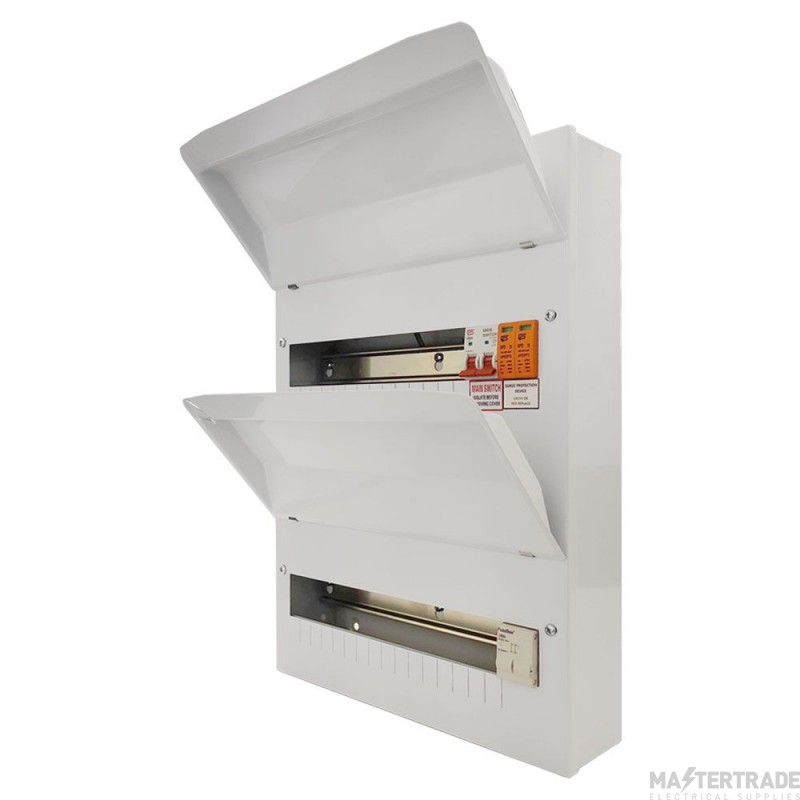 FuseBox F1028MX 28 Way 100A Ms 14/12 Double Bank +T2 Spd (27 Usable ways)