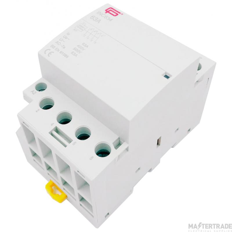 FuseBox INC634 Contactor 4P 63A 230V