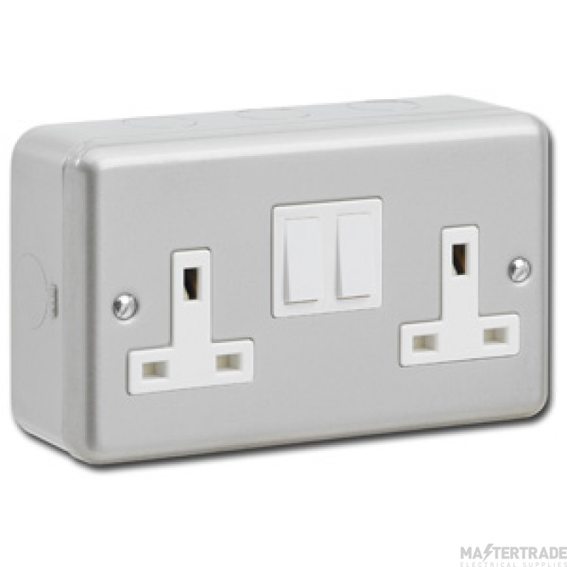 Greenbrook MC421 Socket Twin Switched 13A