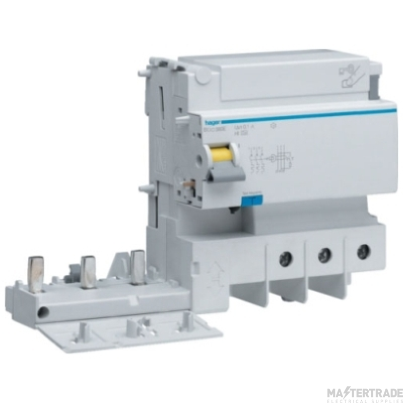 Hager BTC380E RCD TP Add-On AC 125A300mA