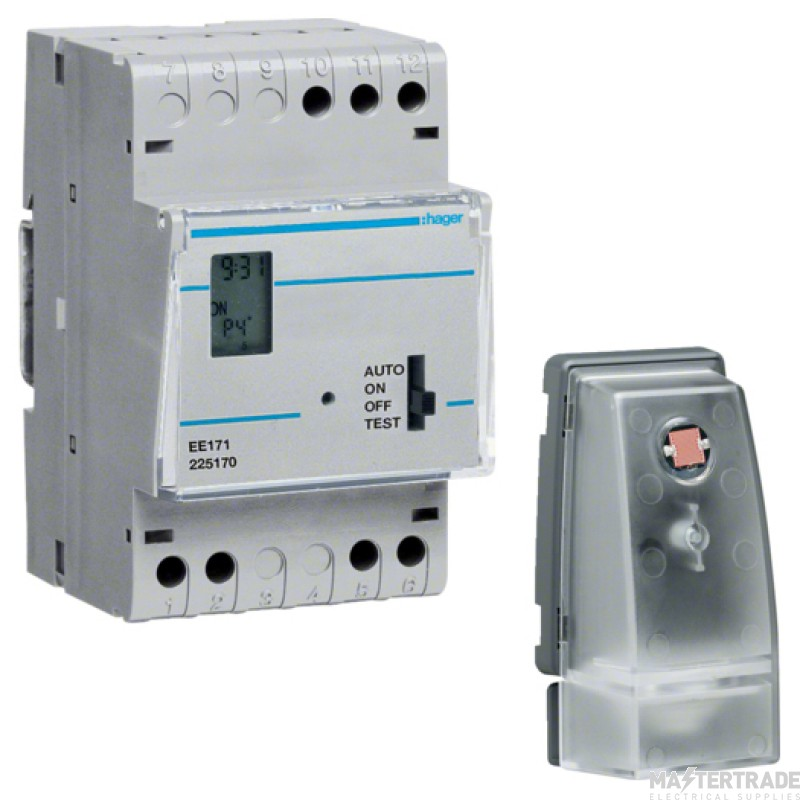 Hager EE171 Programmer & Photocell