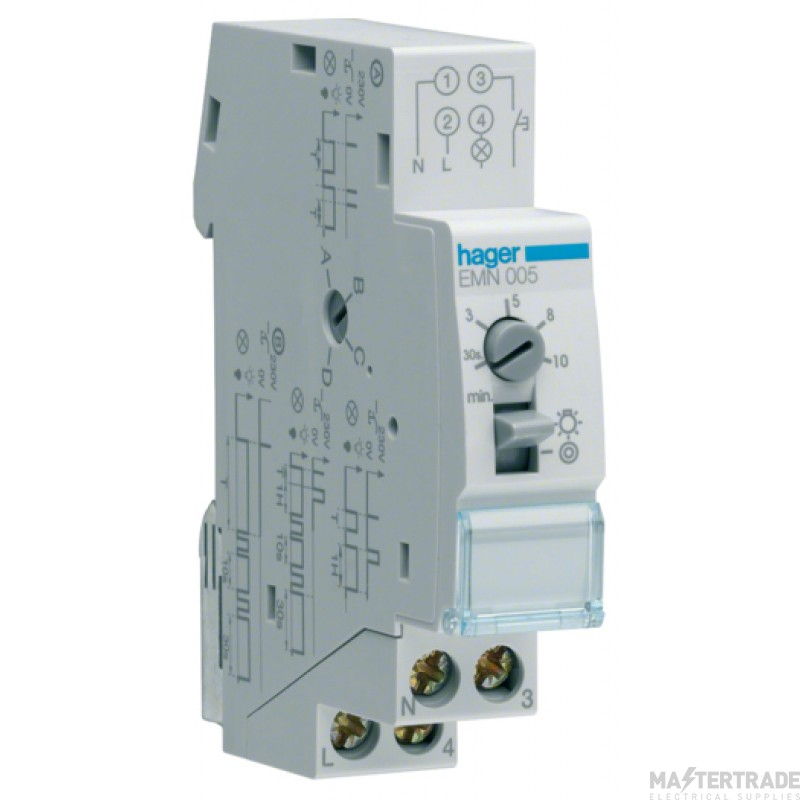 Hager EMN005 Staircase Time Lag Switch